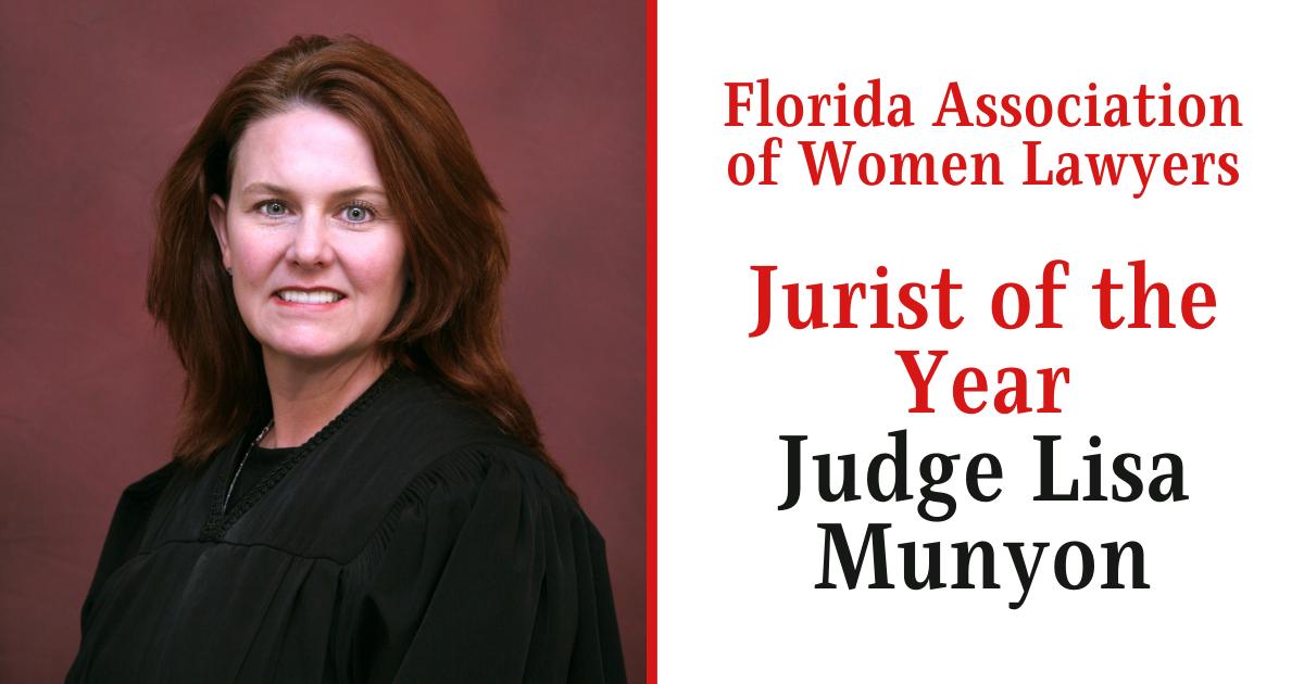Judge Munyon Jurist of the Year