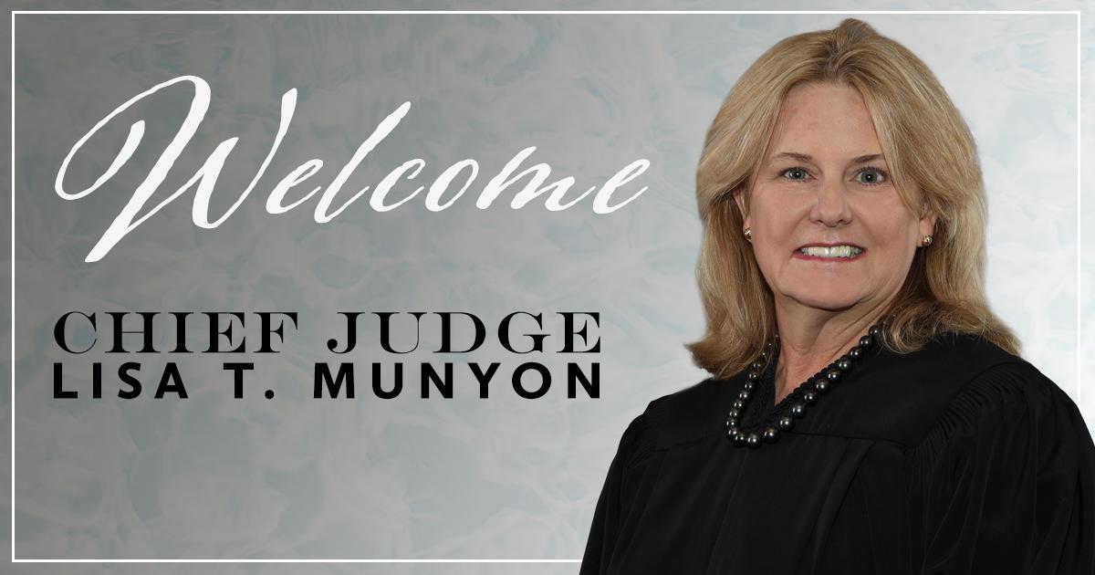 Chief Judge Lisa T. Munyon