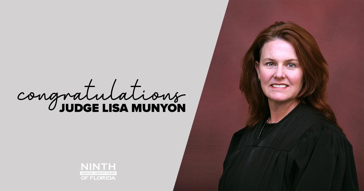 Judge Munyon wins Glazebrook Award