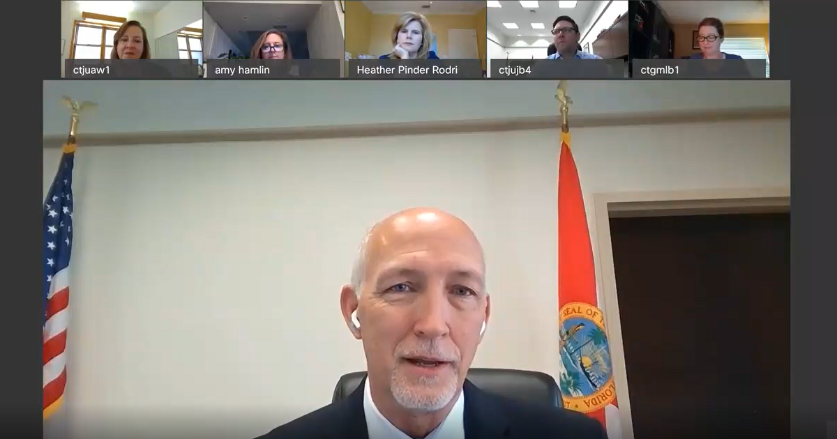 Virtual Town Hall with the OCBA