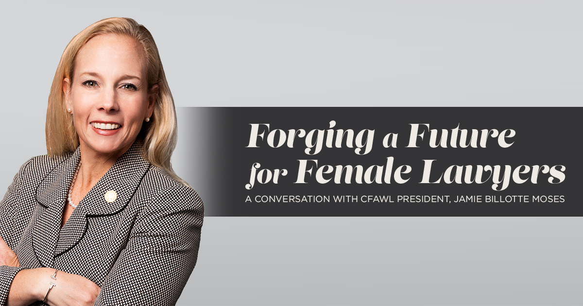 Open Ninth Podcast - Episode 80 - Forging a Future for Female Lawyers