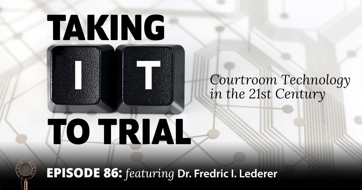 Open Ninth - Episode 86 - Dr. Frederick Lederer