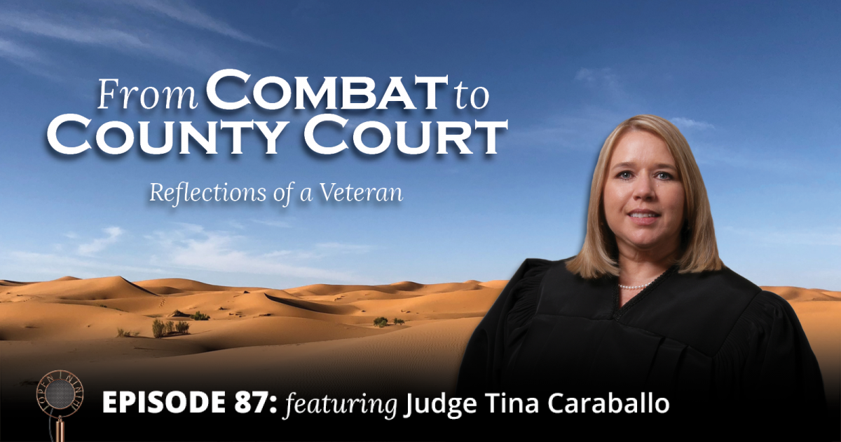 Open Ninth - Episode 87 - From Combat to County Court