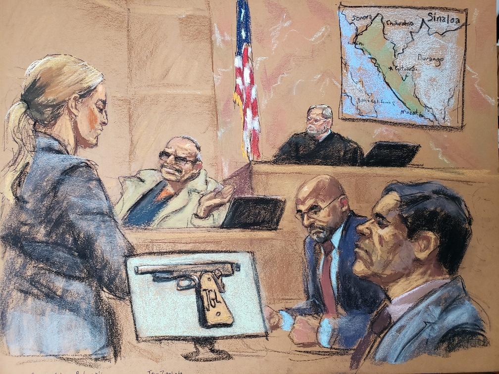 "United States vs Joaquín ""El Chapo"" Guzmán"