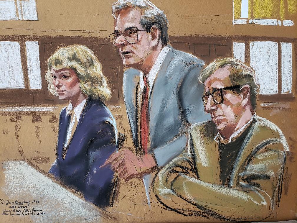 Woody Allen vs Mia Farrow
