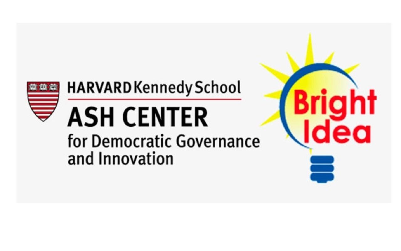 Harvard's Ash Center Government Innovation Award