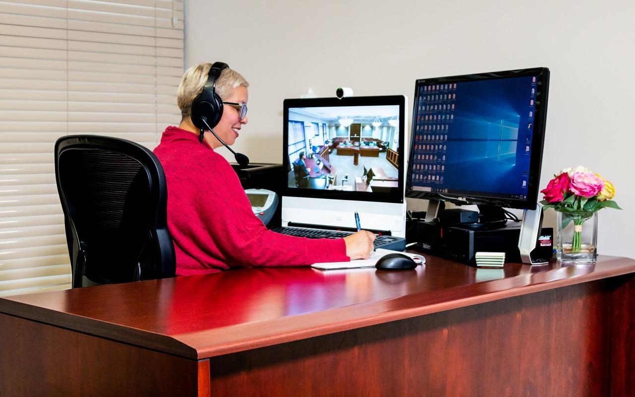 Virtual remote interpreter workstation