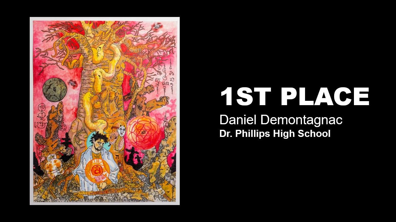High School 1st Place:  Daniel Demontagnac, Dr. Phillips High School