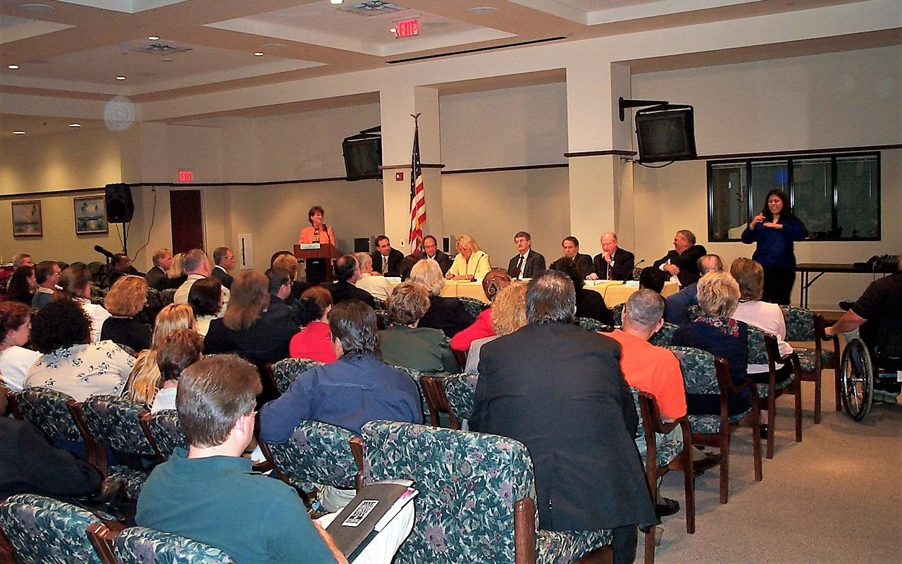 Judicial Town Hall - Osceola County Courthouse
